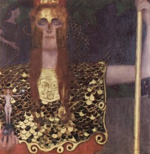 "Gustav Klimts ""Pallas Athene"""