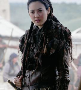 "Claudia Kim als Khutulun in der Netflix-Serie ""Marco Polo"""