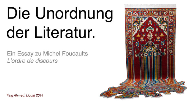 Banner Foucault Essay